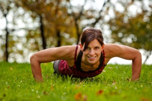 Pushups 300x200 How to Concentrate on Wellness in your Next Fitness Workout